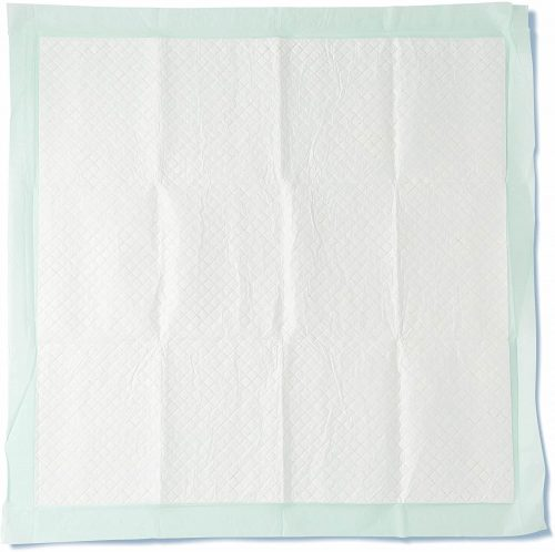 """Medline Heavy Absorbency Underpads, 36"""" x 36"""" Quilted FluffAnd Polymer Disposable Underpad, 50 Per Case"""