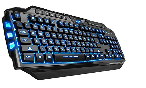 Genius E-Sport LED Illuminated Keyboard