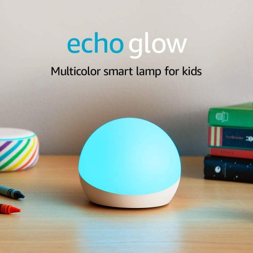 Amazon-Echo Glow Multicolor Smart Lamp
