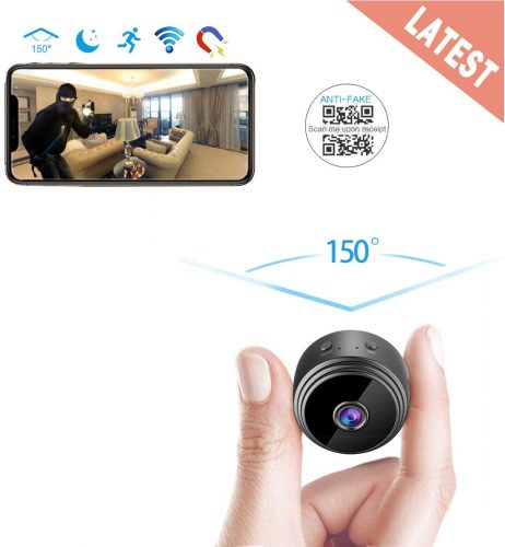 AREBI Spy Camera Wireless Hidden Wi-Fi Mini Camera