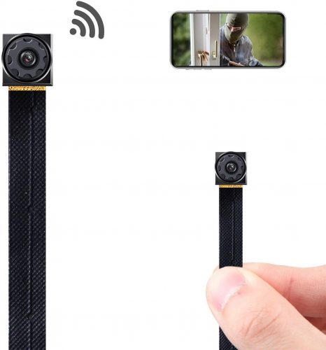 Mini Spy Camera Wireless Hidden Camera Wi-Fi Tiny Hidden Spy Camera