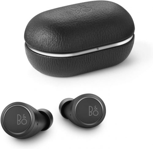 Bang & Olufsen Beoplay E8 3rd Generation True Wireless in-Ear Bluetooth Earphones, Qi Charging 35 Hours of Playtime, Black
