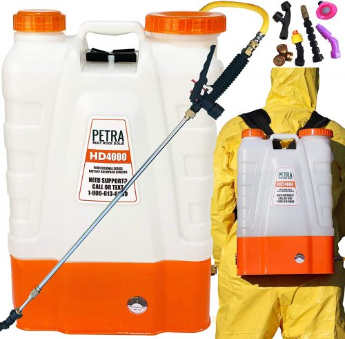 Petra 4 Gallon Battery Powered Backpack Sprayer