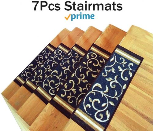 Stair Treads Carpet Non-Slip – Stair Runners for Wooden Steps Non Slip