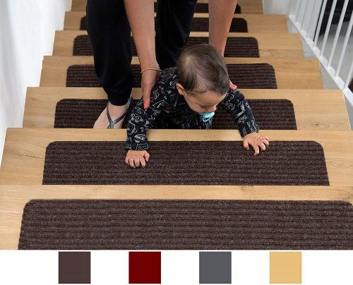 Eden Products Patent Pending Non-Slip Carpet Stair Treads