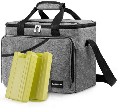 Cooler Bag 40-Can Large, Insulated Soft Sided Cooler Bag