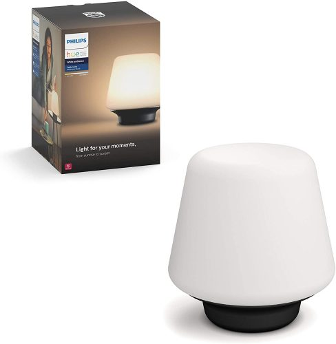 Philips Hue White Ambiance Wellness Smart Table Lamp