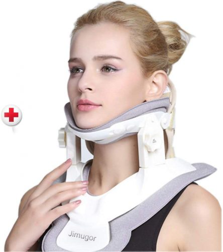 Jimugor Cervical neck traction device.