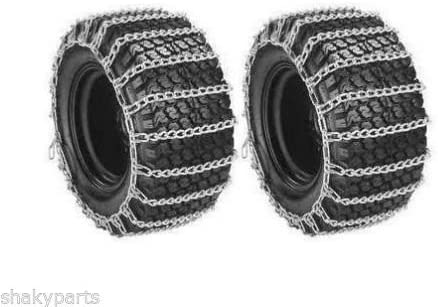 5572 Rotary Set Of 2 26X12x12 Tractor Tire Chains 2 Link Spacing