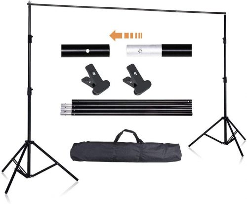 AW 10ft Adjustable Photography Background Support Stand
