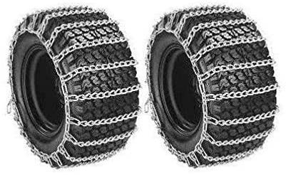 Welironly Pair 2 Link TIRE Chains 23x10.50-12