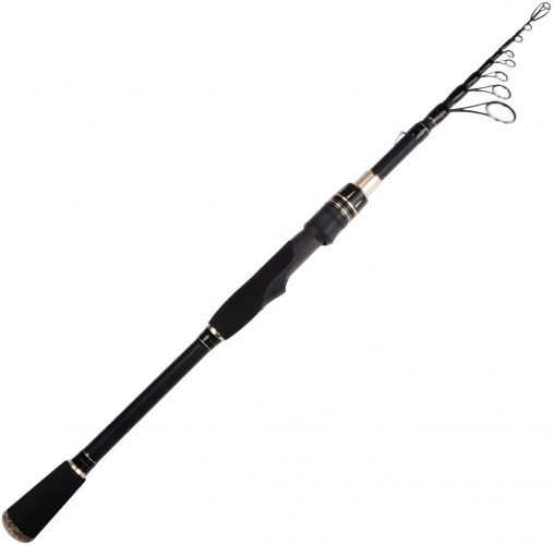 KastKing Blackhawk II Telescopic Fishing Rods, Graphite Rod