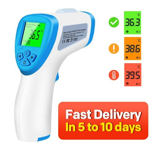 Infrared Forehead Thermometer Gun for Babies Children Adults