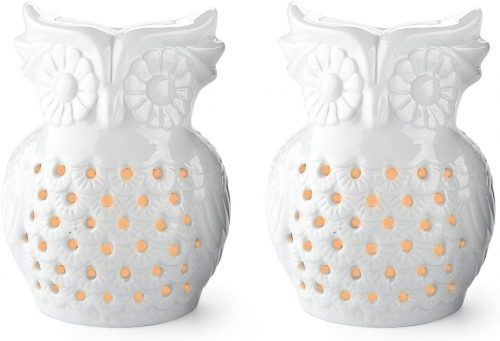 T4U Owl Oil Burners with Candle Spoon