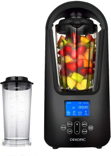 Omorc-Smoothie Blender with New Vacuum Technology