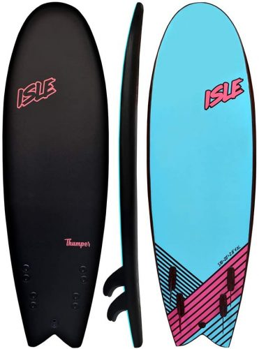 """ISLE Thumper 5'11"""" Soft Top Surf Board Package"""