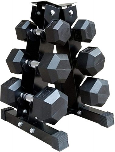 Leiyini 3-Tier Dumbbell Storage Rack