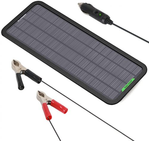 Allpowers 18V 5W Portable Solar Car Battery Charger