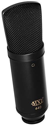 MXL 440 Multipurpose Large-Diaphragm Studio Condenser Microphone