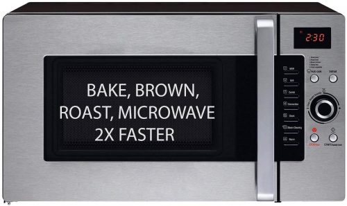 3 in 1 Oven: Half Time Convection Microwave Oven