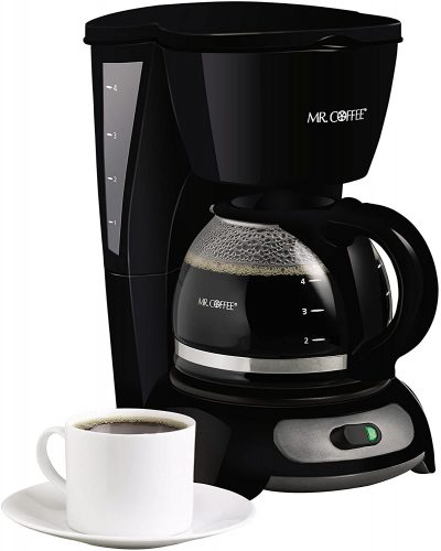 Mr. Coffee 4-Cup Switch Drip Coffeemaker