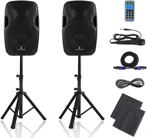 PA Speakers Bluetooth System 12 Inch