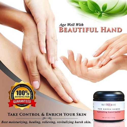 Organic Butter Dry-Harsh Hands Lotion Cream