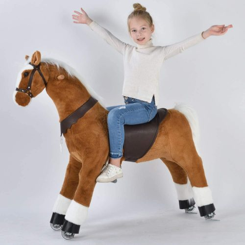UFREE Large Mechanical Rocking Horse Toy