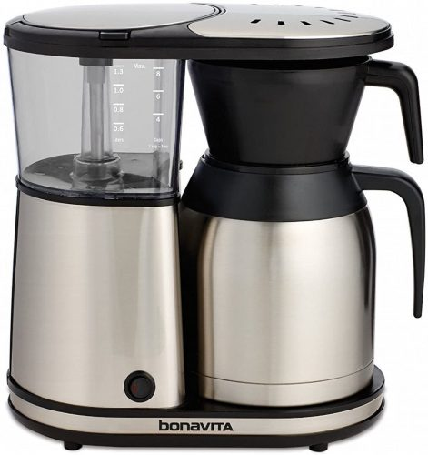 Bonavita BV 1900TS 8 Cup Stainless Steel Coffee Maker