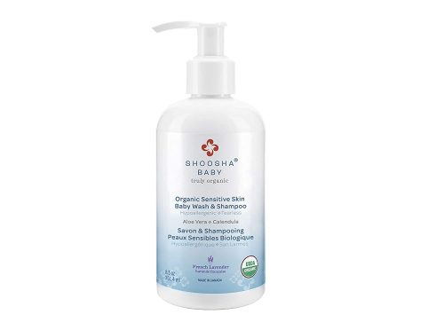 Organic Baby Wash and Shampoo for Sensitive Skin