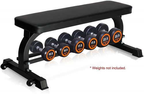 Er Kang Flat Bench Dumbbell Rack