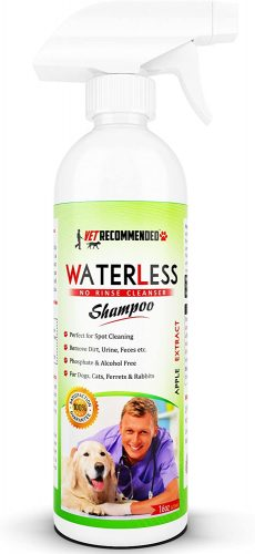 Vet Recommended Waterless Dog Shampoo
