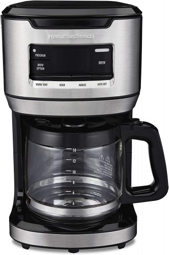 Hamilton Beach 14-Cup Programmable FrontFill Coffee Maker