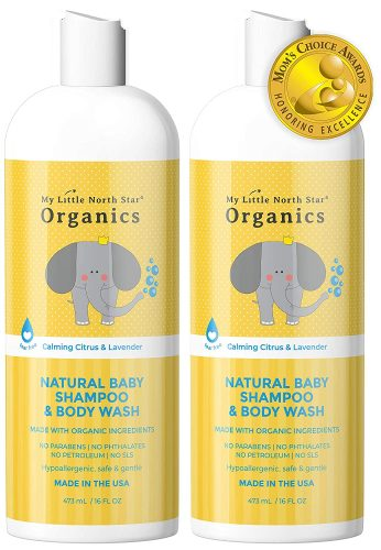 My Little North star Natural Baby Shampoo and Body Wash