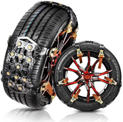 MATCC Tire Snow Chains Anti Slip Tire Chains Safety Emergency