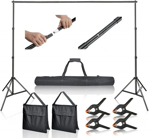 Emart 10ft Photo Video Background Stand