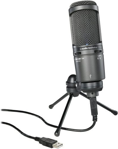 Audio-Technica AT2021USB+ Cardioid Condenser USB Microphone