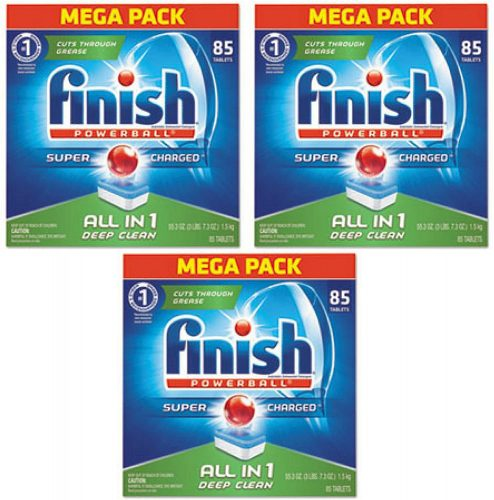 Finish All in 1 Powerball Fresh Dishwasher Detergent Tablets 85 pacs