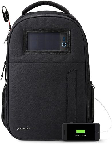 Lifepack Solar Powered Backpack