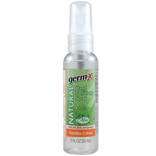 Germ-X Natural Hand Sanitizer Spray