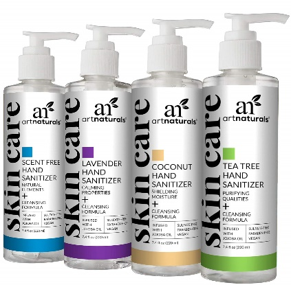 ArtNaturals Hand Sanitizer Gel