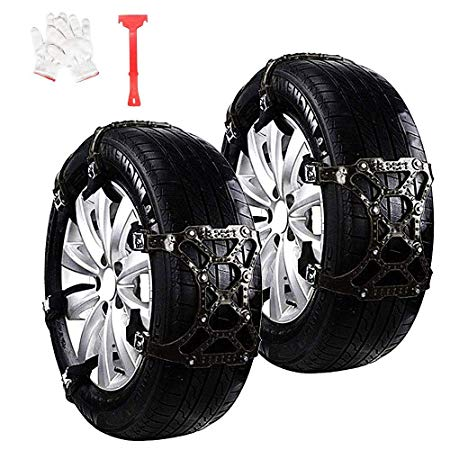 WeyTy Car Snow Tire Chains Anti Slip Snow Skid Mud Chains