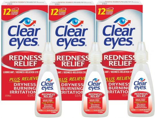 Clear Eyes, Redness Relief Eye Drops