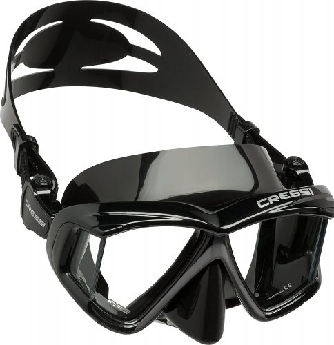 Cressi Pano 4 | Wide Multi-Lens View for Scuba Diving