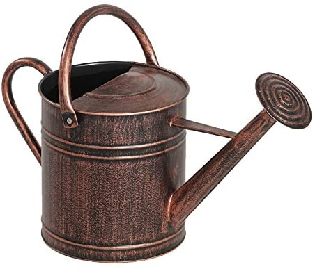 Panacea 84872 2 Gallon Brushed Bronze Watering Can