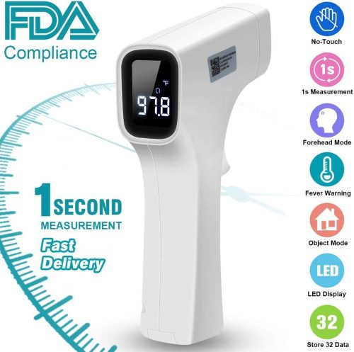 Forehead Thermometer, Digital Infrared Thermometer