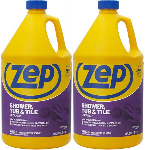 Zep Shower Tub and Tile Cleaner 1 Gallon ZUSTT128 (Case of 2)