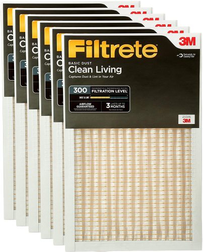 Filtrete Clean Living Basic Dust AC Furnace Air Filter