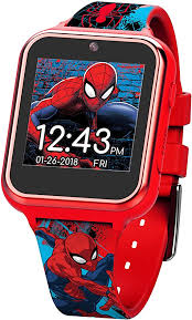 Marvel 283 Boys' Touch-Screen Watch with Silicone
