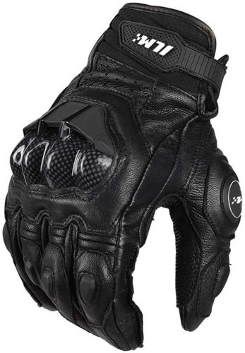 ILM Air Flow & Leather Motorcycle Gloves For Men and Women